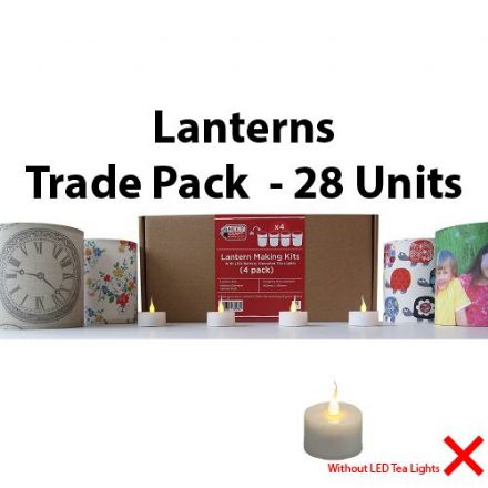 Lantern Making Kit  - 4 Pack  x 28 Units